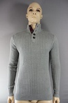 5760 x MENS BUTTON FRONT KNITWEAR PULLOVER . £3.00 EACH