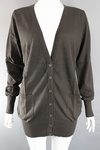 1530 LADIES BROWN BOYFRIEND CARDIGANS IDEAL BEAUTY THERAPY. JUST £2.00 EACH
