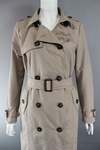 4820 x EX HIGHSTREET LADIES TRENCH COAT LIGHT MAC WITH BELT. JUST £3.50 EACH