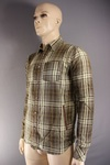 850 x MENS CHECK SHIRTS . 2 COLOURS AND STYLES.. JUST £2.00 EACH