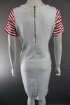 600 LADIES BRETON STRIPE COTTON FIGURE HUGGING DRESSES. 2 COLOURS. JUST £2.75 EACH