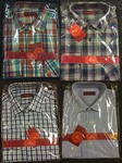 5000 x MENS DESIGNER HIGH QUALITY COTTON SHIRTS - BOXES OF 24, JUST £3.00 EACH