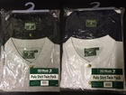3000 x TWIN PACKS MENS POLO SHIRTS 2 PACK. NAVY/WHITE & BLACK/GREY. JUST £2.50 PER PACK