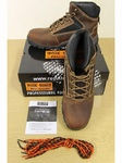 518 PAIRS HIGH QUALITY CARRICK STEEL TOE CAPPED WORK BOOTS, RRP £45.00 PRICE JUST £12.00 EACH