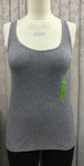 16710 x ex STORE LADIES GREY& KHAKI VEST TOPS.. JUST 65P EACH.