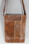 4129 x 100% LEATHER SMALL CROSS BODY BAGS.. JUST £2.50 EACH TAKE ALL PRICE.