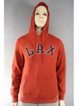 2500 x MENS LAX BURNT ORANGE RED HOODIES.. JUST £2.25 EACH