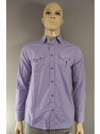 3035 X MENS HIGH QUALITY 100% COTTON SHIRTS.. JUST £2.50 EACH . 6 DESIGNS
