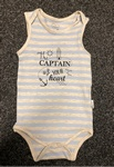 2019 x BABY BODYSUIT VEST.. 3 STYLES JUST £1.25 EACH