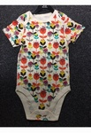 4129 MIXED BABY BODYSUIT VEST TOPS ON HANGERS. JUST £1.25 EACH