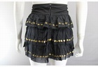7500 x Ex R***R ISLAND LADIES GYPSY MINI SKIRTS WITH GOLD DECORATION.. RRP £24.99. PRICE £1.25