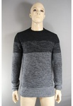 3760 MENS EX STORE BLACK / CHARCOAL JUMPERS.. SIZES XS TO XL. JUST £2.00 EACH