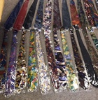 8640 x MENS 100% SILK TIES.. 24 STYLES. ON HANGERS.. JUST 25P EACH