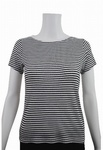 68600 x LADIES/KIDS EX STORE RIBBED T SHIRTS. 6 COLOURS, JUST 65P EACH