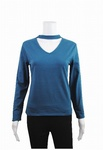 3090 x LADIES EX HIGHSTREET LONG SLEEVE CHOKER NECK TOPS. JUST 85P EACH