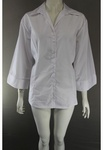 5288 x GEORGE LADIES WHITE PLUS SIZED BLOUSE. JUST 95P EACH