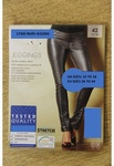 17300 x LADIES STRETCH METALLIC LOOK JEGGINS . SIZES 10 TO 18 UK. SIZES 36 TO 44 (EU). PRICE JUST £1.00 EACH