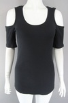 3500 x H & M LADIES COLD SHOULDER TOPS. £1.25 EACH