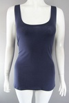1519 EX H & M LADIES LONG LENGTH VEST TOPS 75P EACH