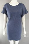 2151 x EX H & M LADIES OVERSIZED LONG LENGTH T SHIRT DRESS TOP £1.25 EACH