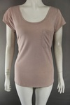 2384 x EX H & M LADIES ROUND NECK POCKET T SHIRT £1.00 EACH