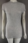 438 x EX H & M LADIES RIBBED HIGH NECK LONG T SHIRTS 75P EACH