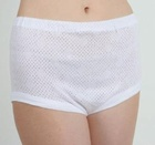 20000 PAIRS WHITE COTTON KNICKERS
