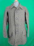SWEDISH M36 MILITARY WOOL COAT WITH REAR AMMO POCKETS