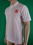 20 X WHITE QUALITY ENGLAND MENS POLO TOPS - £2.25 EACH