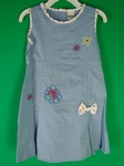 10 x OSH KOSH GIRLS FLOWER BOW DESIGNER SUMMER DRESSES - £4.25 EACH
