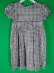 10 x OSH KOSH GIRLS FLOWER  GINGHAM CHECK BOW DESIGNER SUMMER DRESSES - £4.25 EACH