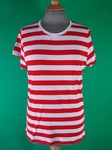 11950 LADIES FITTED STRIPEY T SHIRTS JOBLOT CLEARANCE - £1.00 EACH.