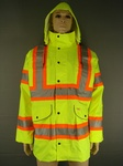 100 CLICK TRADERS HI VIZ WATERPROOF WEMBLY JACKETS RRP £36 EACH. £13.00 EACH TAKE ALL PRICE
