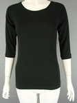 4350 LADIES H & M BRANDED LADIES LONGSLEEVE & 3/4 LENGTH SLEEVE BLACK TOPS £1.25 EACH