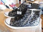 6450 x GEORGE ADULT ANIMAL PRINT CONVERSE STYLE BASEBALL BOOTS RRP £16 EACH. £1.50 EACH TAKE ALL PRICE