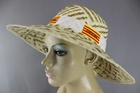 80,000 MIXED MENS LADIES STRAW HATS SPANISH & PORTUGESE THEMES - ONLY 65P EACH