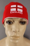 1000 x ENGLAND REVERSIBLE BEANIE HATS ST GEORGE CROSS - 75P EACH