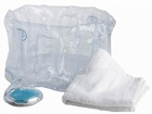 17000 X INFLATABLE FOOTBATH FOOTSPA SETS, PUMICE STONE AND TOWEL, JUST 40P PER SET