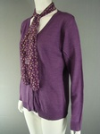 900 LILAC PURPLE LADIES CARDIGANS WITH FREE SCARF - JUST £2.00 EACH