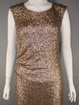 100 x  MONSOON ELIZABETH LONG GOLD SEQUINED MAXI EVENING DRESS - RRP £219 (34O EUROS) - JUST £30.00 EACH