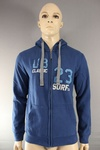 425 x URBAN BEACH MENS HOODIES, SIZES SMALL TO 2XL... £4.00 EACH